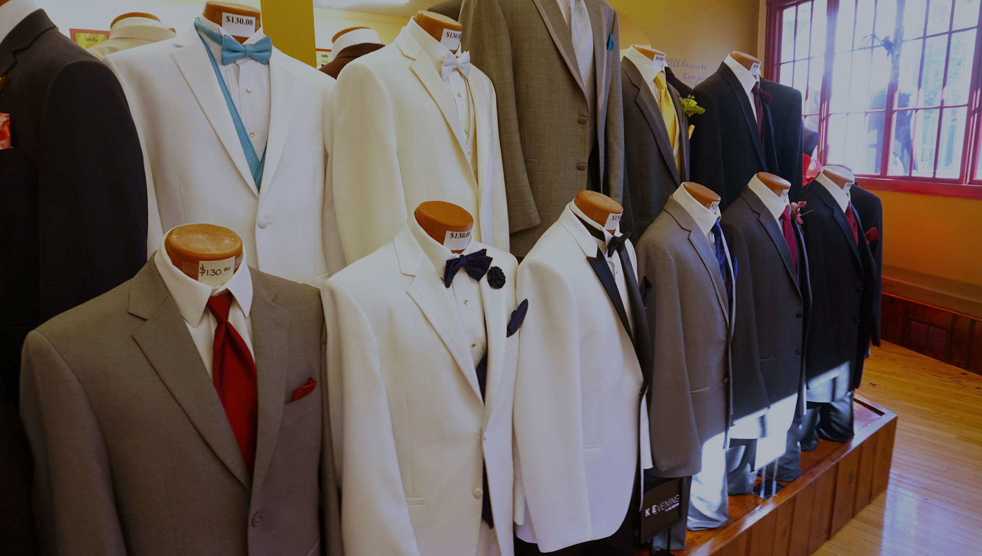 Tuxedos for Rent