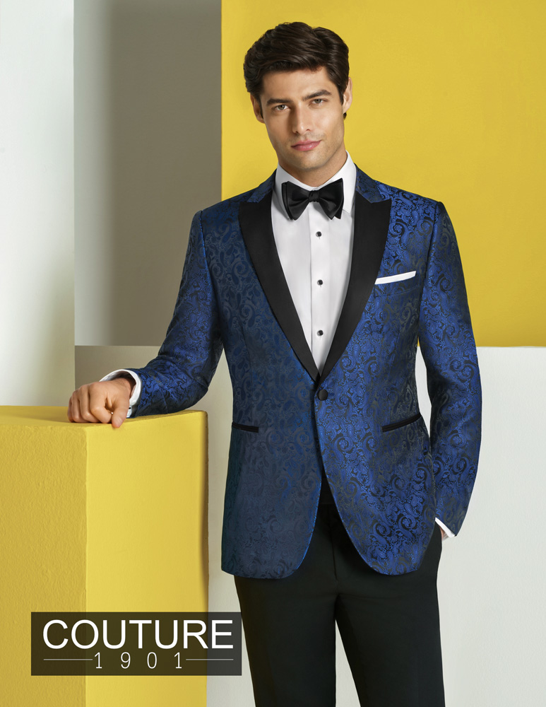 Man In Blue Tux