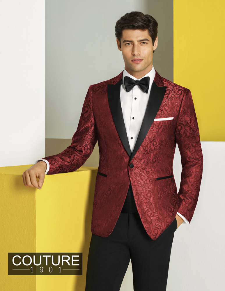 Man In Red Tux